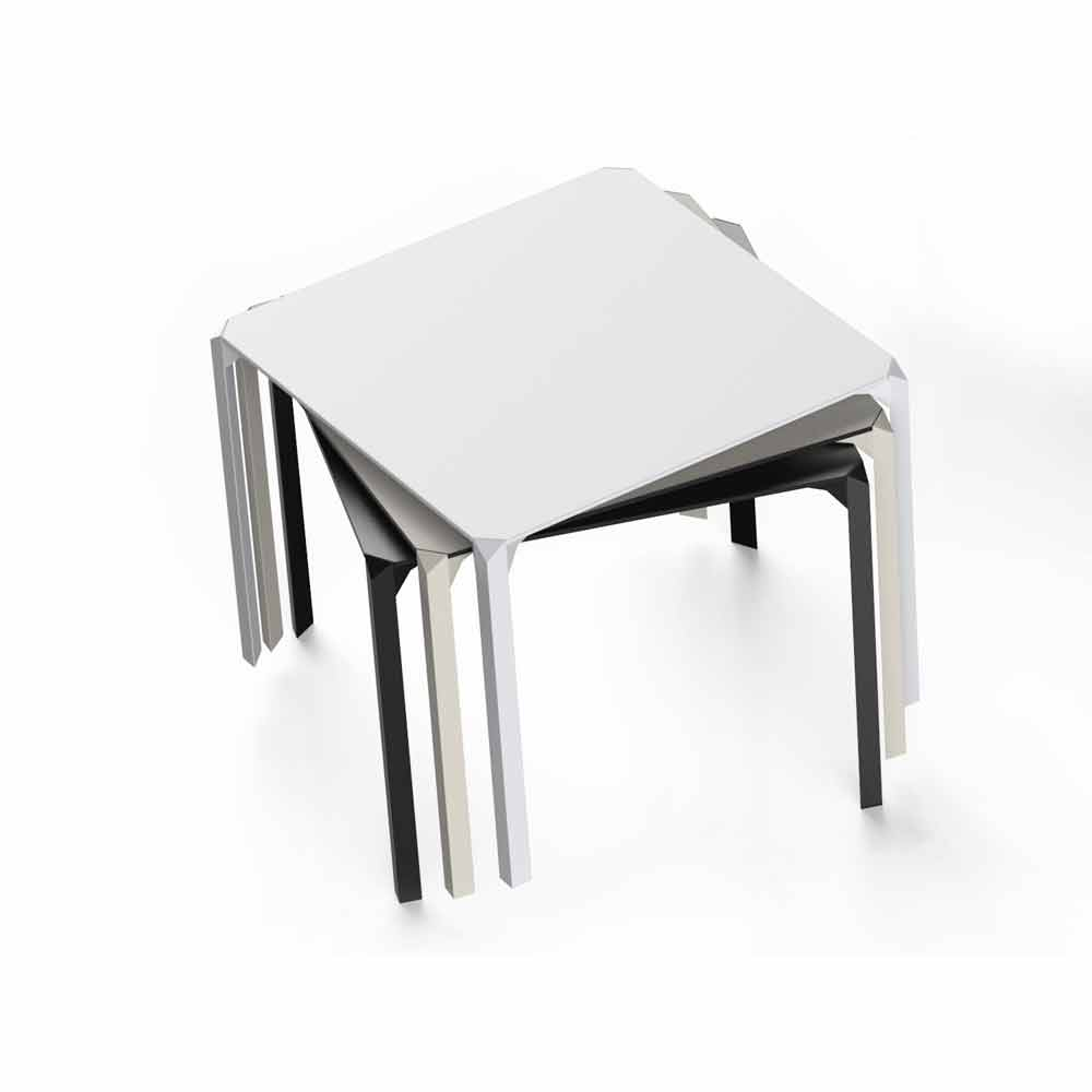 Tavolo Quadrato Da Esterno.Vondom Quartz Tavolo Da Giardino Quadrato Design Moderno
