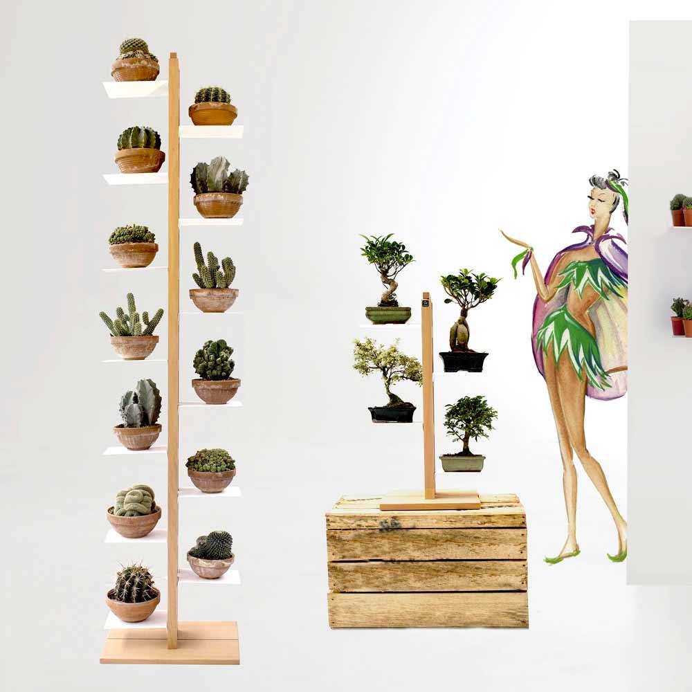 zia flora portavasi moderno a colonna made in italy a prezzi ridotti. Black Bedroom Furniture Sets. Home Design Ideas