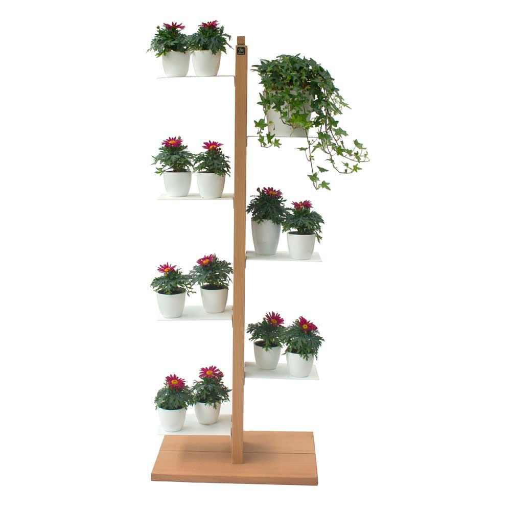 zia flora portavasi moderno a colonna made in italy a