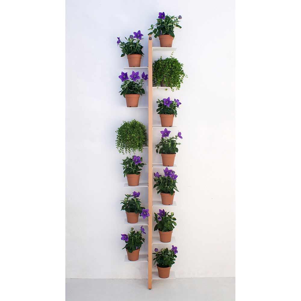 Zia flora portavasi da terra fissato a parete a prezzi - Appendiabiti da terra ikea ...
