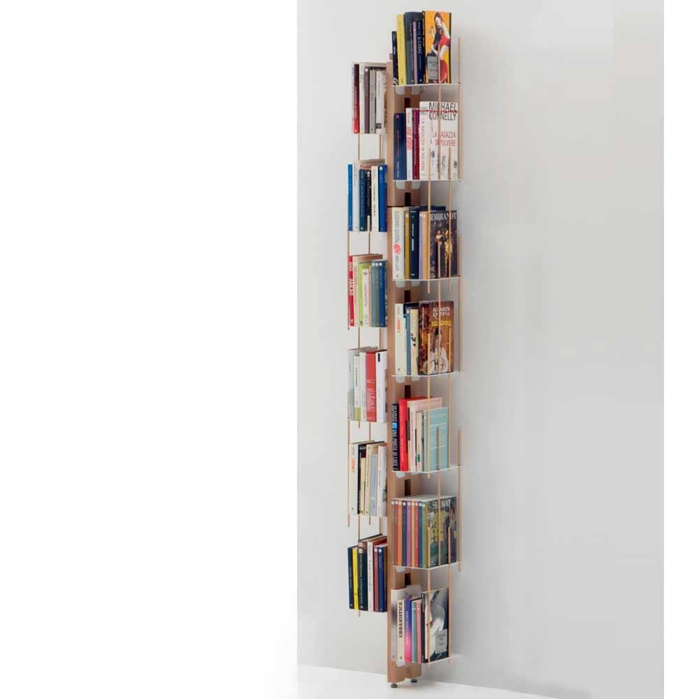 Libreria moderna di design da terra made in italy zia - Porta tv da terra ...