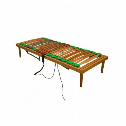 Rete singola reclinabile in legno Bio Energy Plus ATP Motorizzata
