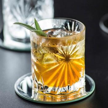 12 Bicchieri Double Old Fashioned Tumbler in Eco Cristallo di Design - Daniele