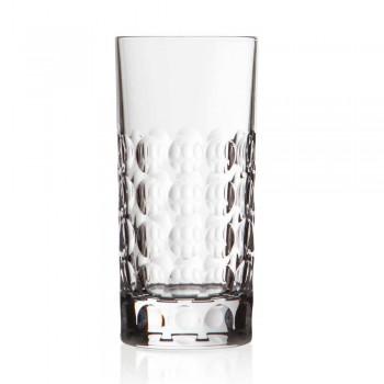 12 Bicchieri Highball per Bibite o Long Drink in Cristallo Eco - Titanioball