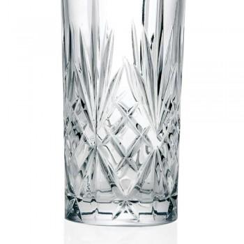 12 Bicchieri Tumbler Alto Highball per Cocktail in Eco Cristallo - Cantabile