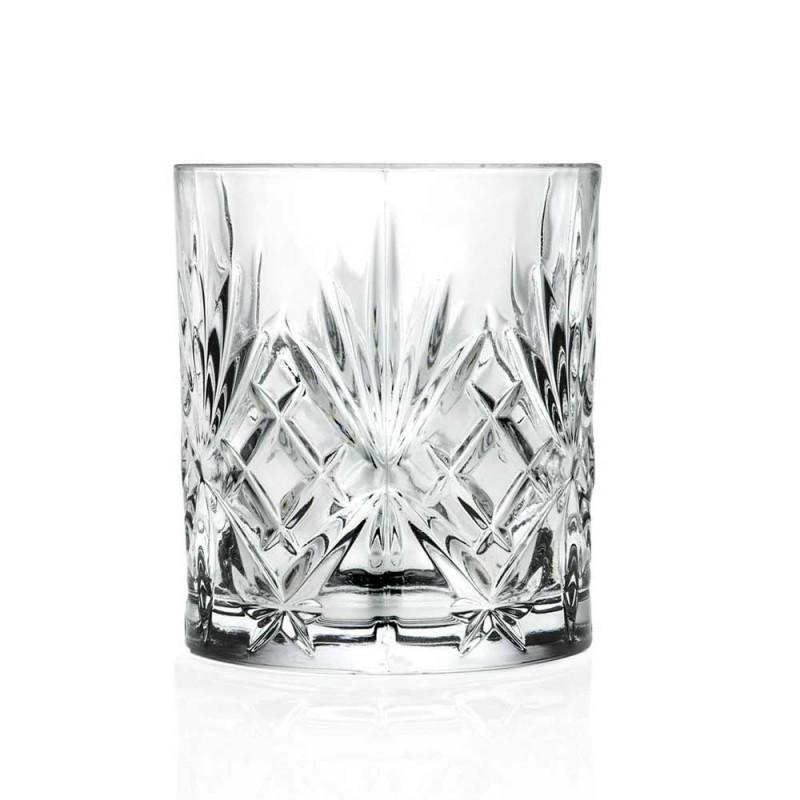 12 Bicchieri Tumbler di Design Vintage in Vetro Sonoro Superiore Eco - Cantabile