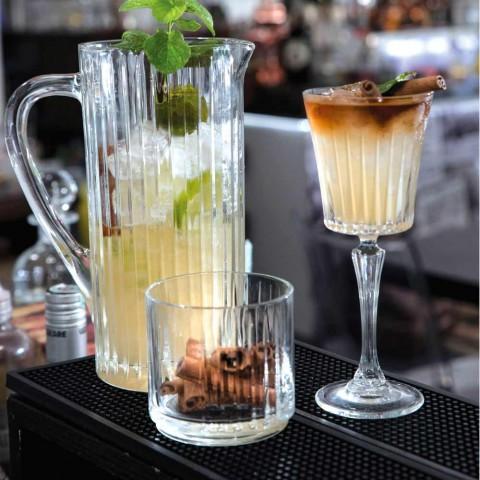 12 Calici da Vino Acqua Cocktail in Cristallo Ecologico di Lusso - Senzatempo