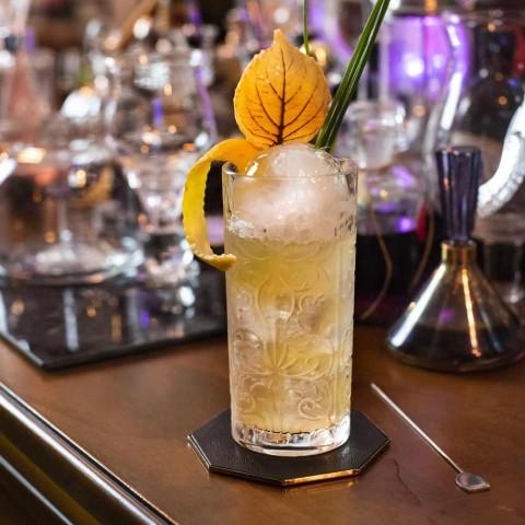 12 Tumbler Alti Bicchiere Highball Cocktail o Acqua Decorato di Lusso - Destino