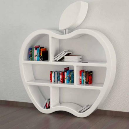 Libreria design moderno rossa,bianca o grigia Gluttony