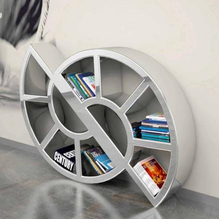 Libreria design moderno fatta artigianalmente in Italia Nicol