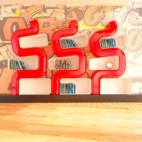 Libreria Moderna Ser P Made in Italy