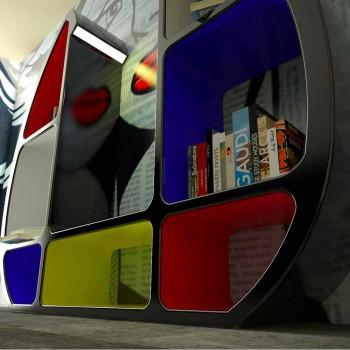 Libreria Moderna Shelley Made in Italy