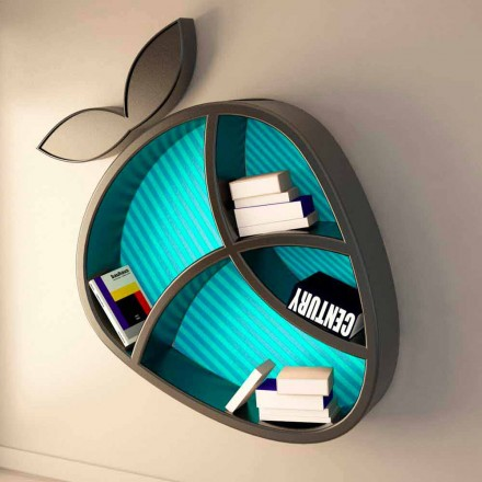 Mensola design moderno Poppy Book Viadurini Design Made in Italy