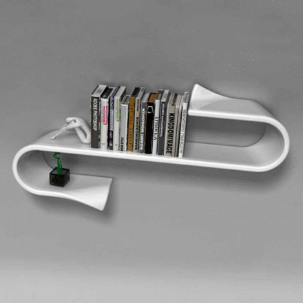 Mensola design moderno Waveshelf Viadurini Design Made in Italy