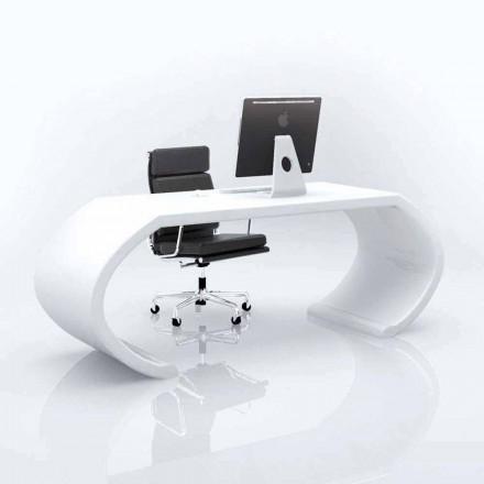 Scrivania moderna di design da ufficio Adams, fatta in Italia