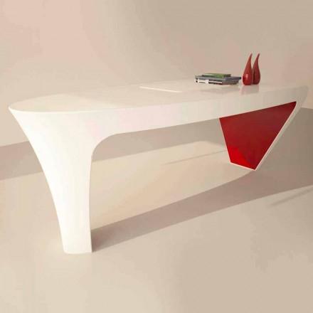 Scrivania da ufficio dal design moderno Ashe, fatta in Italia