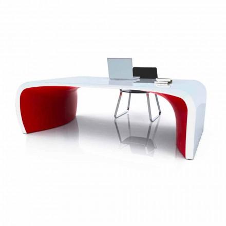 Scrivania per ufficio design moderno Sonar, prodotto artigianale