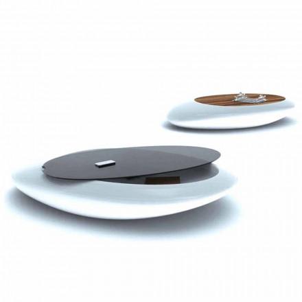 Tavolino Design Soggiorno Drop Made in Italy