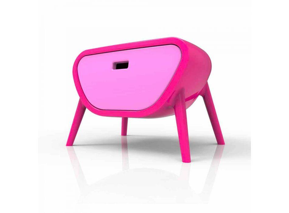 Comodino Moderno Design Little Gauche Made in Italy