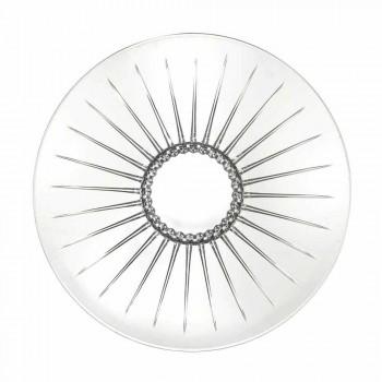 2 Centrotavola in Vetro Sonoro Superiore Ultraclear Lusso e Design - Senzatempo