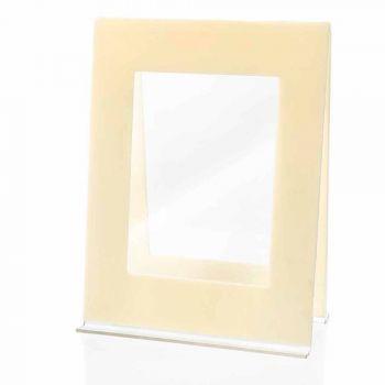 2 Portafoto da Tavolo Multiplo in Plexiglass Colorato Design Italiano - Tarino