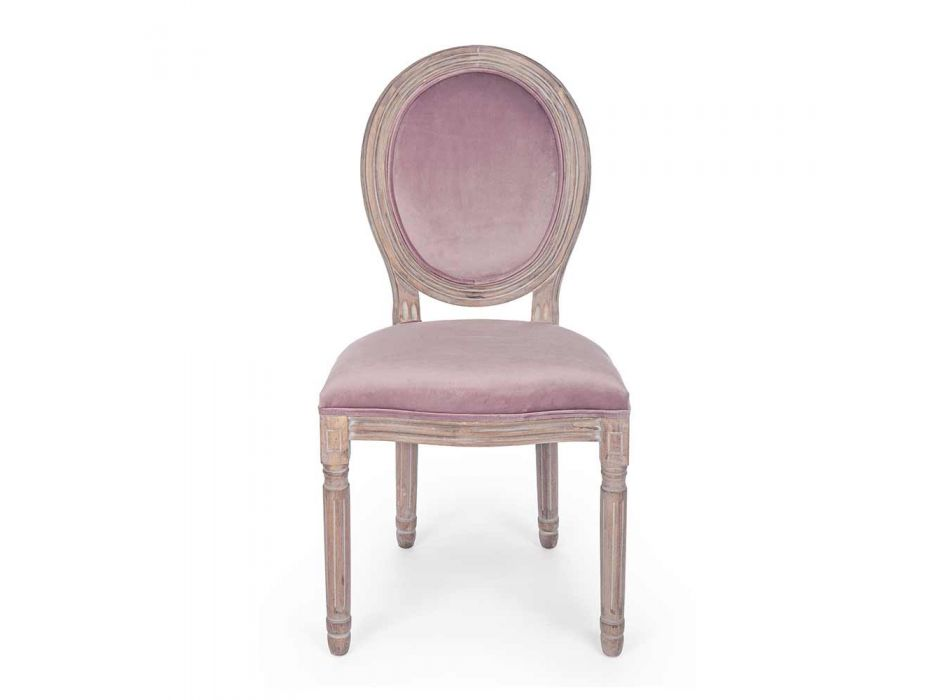 2 Sedie per Sala da Pranzo di Design Classico in Poliestere Homemotion - Dalida