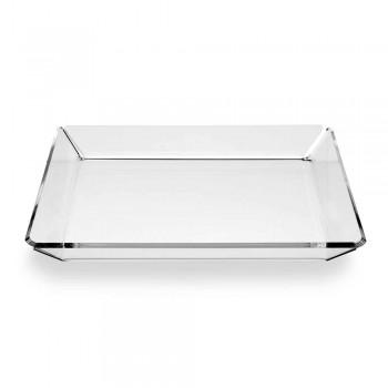 2 Svuotatasche di Design Moderno da Ingresso in Plexiglass Trasparente - Tonio
