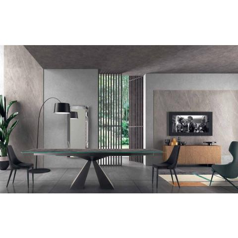 4 Sedie Moderne in Acciaio con Seduta in Velluto Imbottita Made in Italy – Nirvana