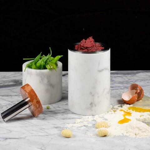Accessori Salvaspazio per Cucina Strumenti in Marmo, Legno e Acciaio - Astoria