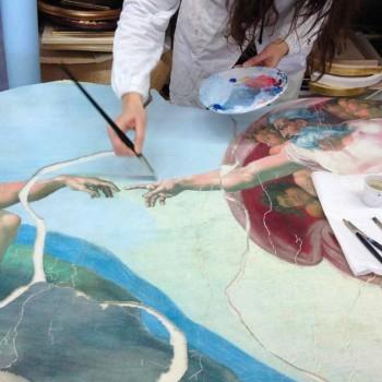 Affreschi e dipinti personalizzati su misura