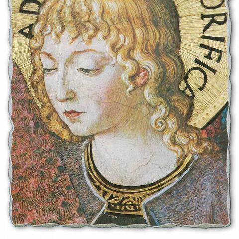 """Affresco Benozzo Gozzoli """"Cori di Angeli in Adorazione""""-1454"""