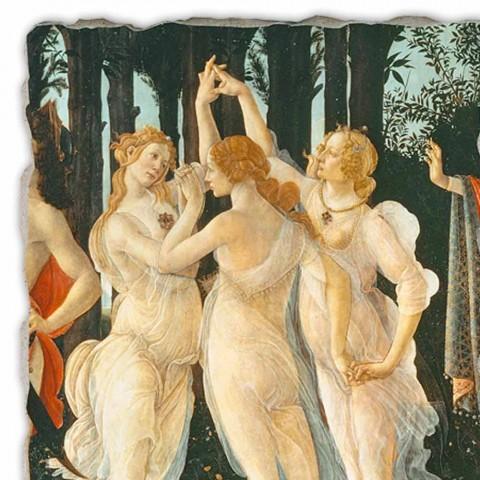 """Affresco Botticelli """"Allegoria della Primavera"""" – particolare"""