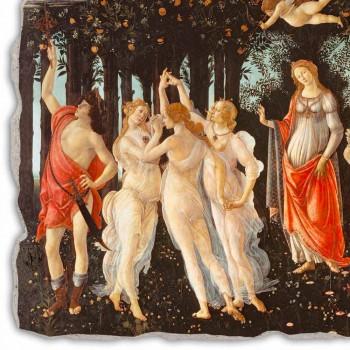 """Affresco fatto a mano Botticelli """"Allegoria della Primavera"""""""