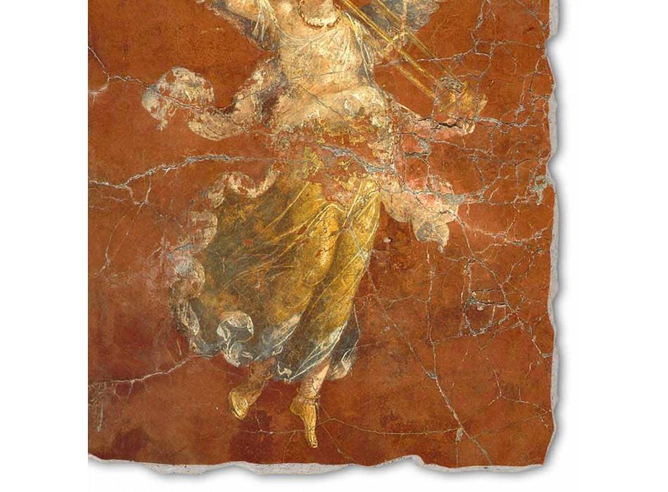 """Affresco fatto a mano in Italia Arte Romana """"Ciclo delle Muse"""""""