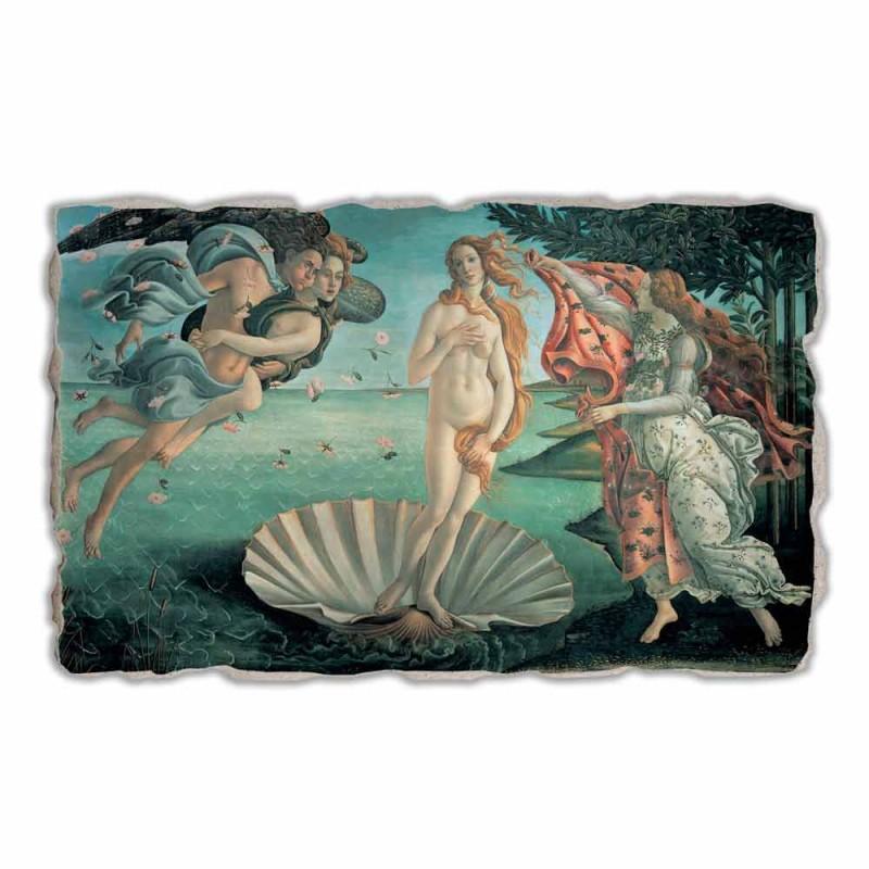 """Affresco fatto in Italia Botticelli """"Nascita di Venere"""""""