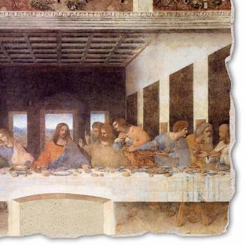 """Affresco fatto in Italia Leonardo da Vinci """"L'Ultima Cena"""""""