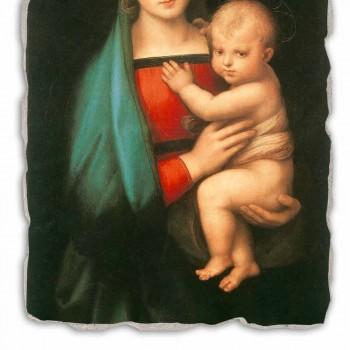 """Affresco fatto in Italia Raffaello Sanzio """"Madonna del Granduca"""""""