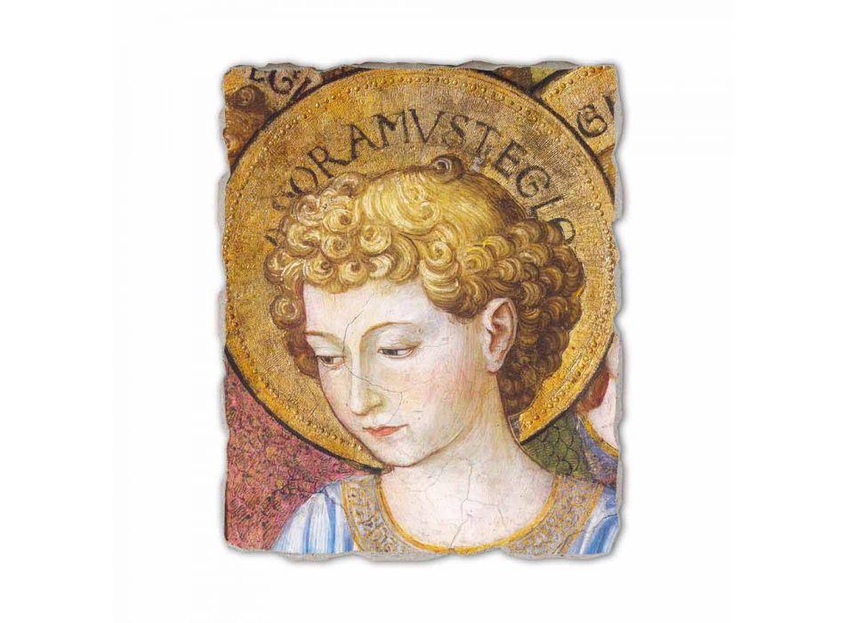 """Affresco Gozzoli """"Cori di Angeli in Adorazione""""- 1454 ca"""