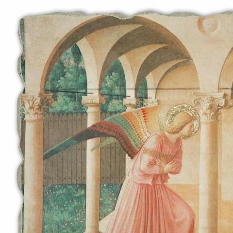 """Affresco grande Beato Angelico """"Annunciazione"""" fatto in Italia"""