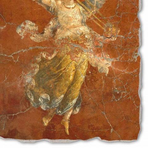 """Affresco grande fatto a mano Arte Romana """"Ciclo delle Muse"""""""