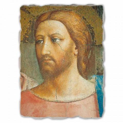 """Affresco grande fatto a mano in Italia Masaccio """"Il Tributo"""""""