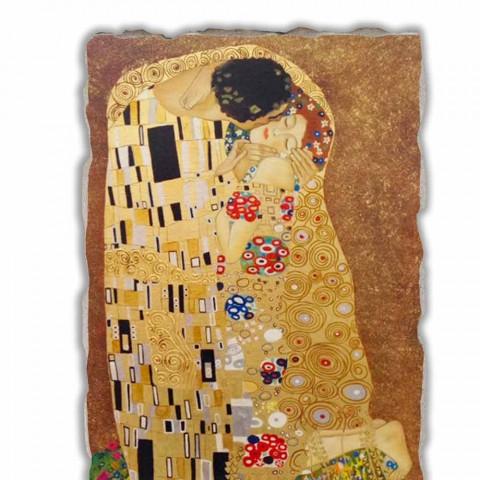 """Affresco grande fatto in Italia Gustav Klimt """"Il Bacio"""""""
