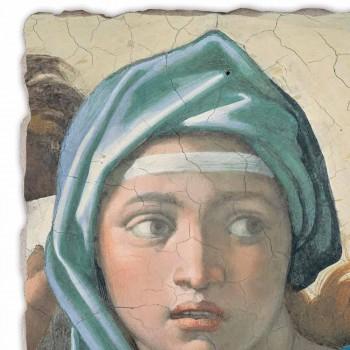 """Affresco grande fatto in Italia Michelangelo """"Sibilla Delfica"""""""