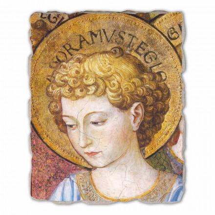"""Affresco grande Gozzoli """"Cori di Angeli in Adorazione""""- 1454 ca"""