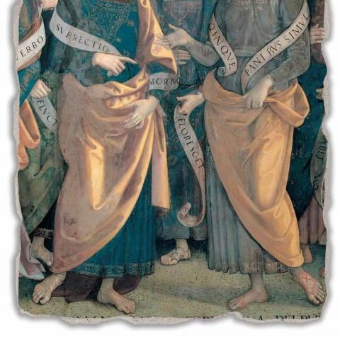 """Affresco grande Perugino """"Eterno tra Angeli, Profeti e Sibille"""""""