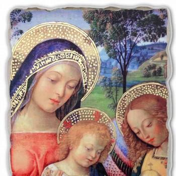 """Affresco grande Pinturicchio """"Madonna della Pace""""particolare"""