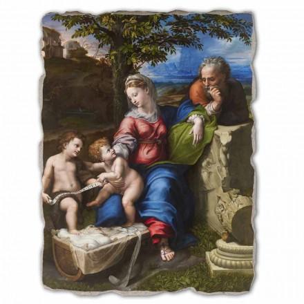 """Affresco grande R. Sanzio """"Sacra Famiglia sotto la Quercia"""""""