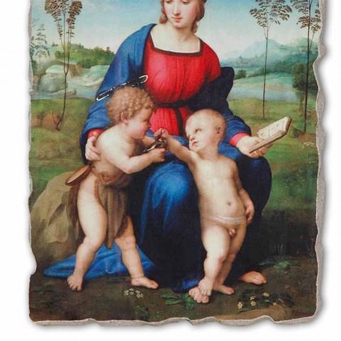 """Affresco grande Raffaello Sanzio """"Madonna del Cardellino"""""""
