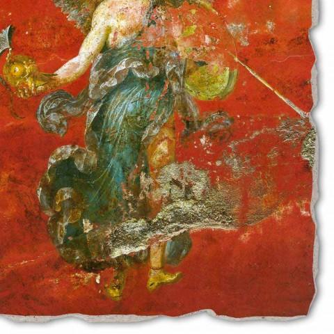 """Affresco riproduzione Arte Romana """"Ciclo delle Muse"""" part."""