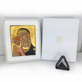 """Affresco riproduzione Botticelli """"Madonna del Libro"""""""